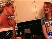 Trannies Morgan Bailey And Sadie Hawkins Get Horny 3