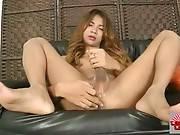 Awesome Ladyboy Masturbates On Camera 1