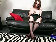 Cute Brunette TS Allexis Is Very Horny 2