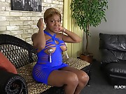 Kristal returns with a brand new solo scene! Kristal is a pretty ebony transgirl from Florida with a curvy body, big boobs and a nice big booty! Watch her stripping, posing and playing with her cock!